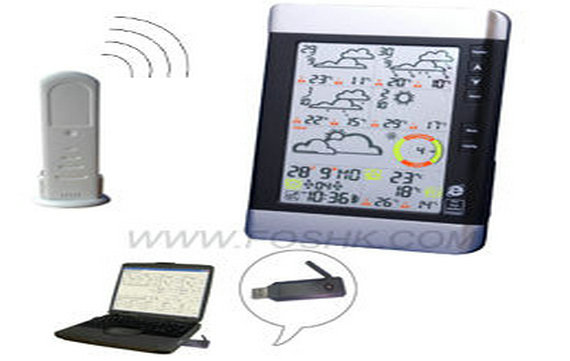 WH2001-5day forecast weather staiton with outdoor sensor