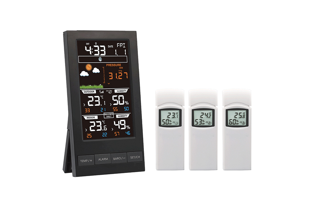 WH2810  Color screen weather station