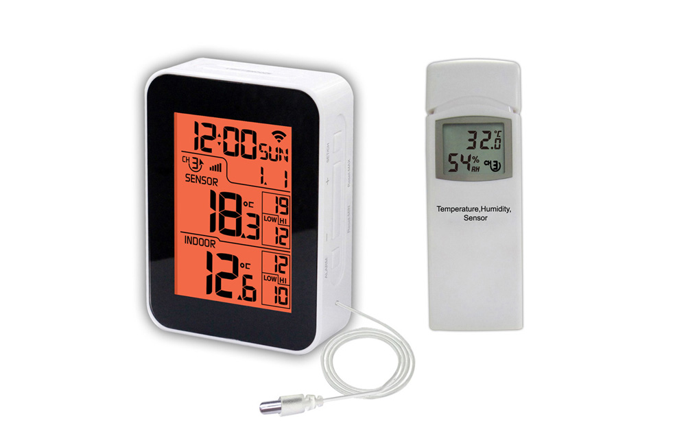 WH0268 Wireless Thermometer with outdoor temperature sensor and WIFI connection