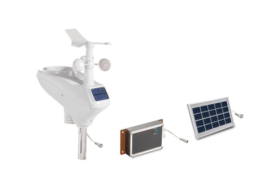 WH6007 3G WCDMA Solar power weather station SMS remote data logger