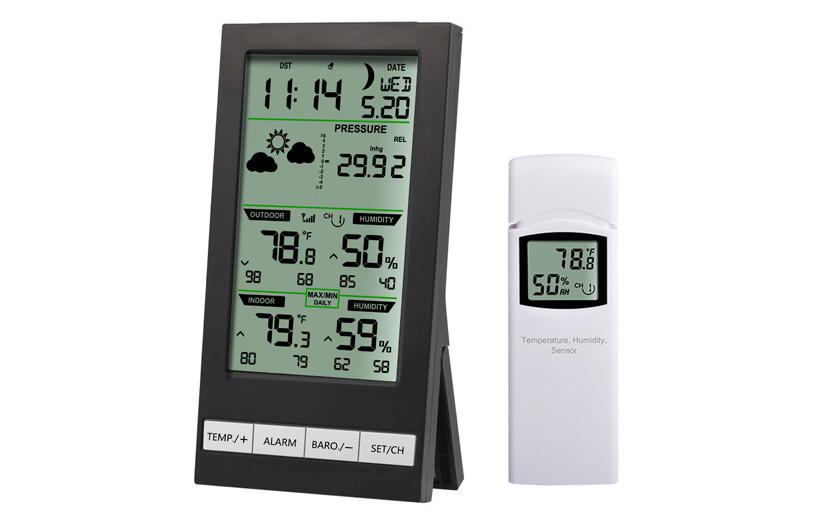 3 Channel Weather Station