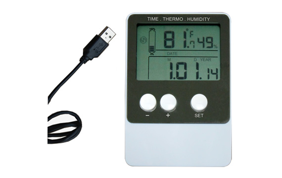 DS102  USB temperature & humidity data logger