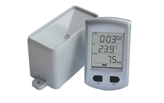 WH0202 Rain gauge meter with temperature