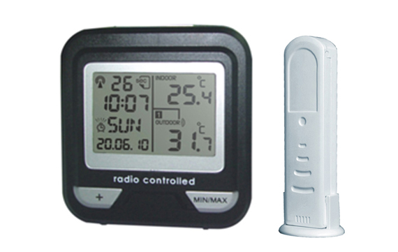 WH0233 Wireless Thermometer with remote Temperature sensor