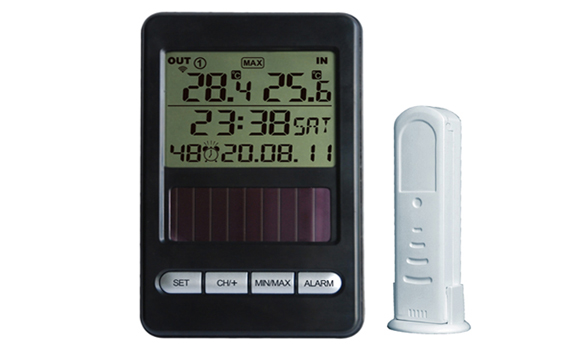 WH0250 Wireless Solar Powered Thermometer
