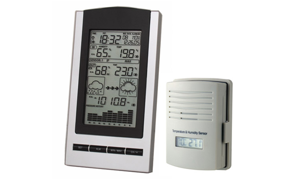 WH1170 Weather Station with Outdoor Temperature and humidity sensor