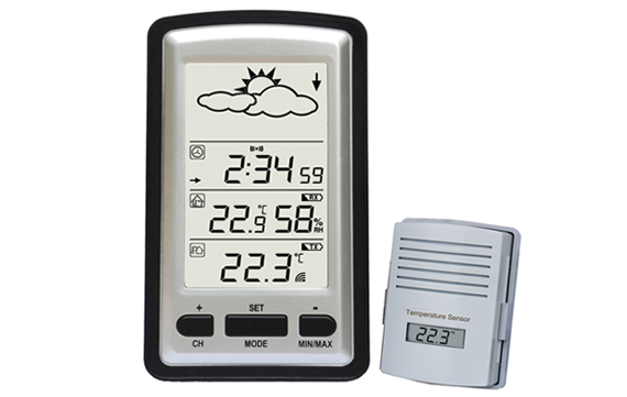 WH1280 Wireless Weather Station with Outdoor Temperature