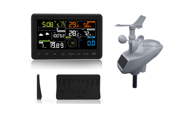 WH2950 Professional Color display Weather Station with WIFI Connection