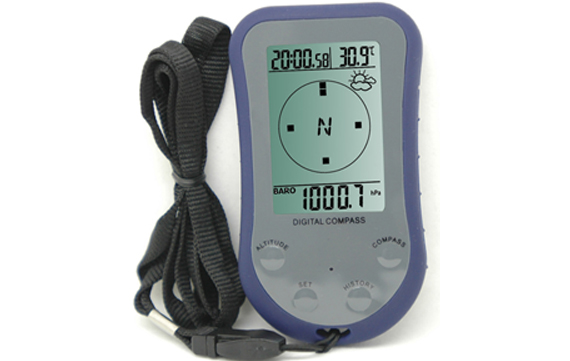 WS-110 Altimeter with digital compass